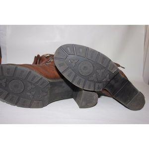 Calvin Klein Shoes - Calvin Klein Annabel Hiker Laceup Shearling Boots